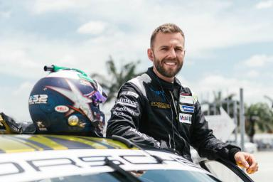 Reigning champ Van der Drift returns to the front of the pack with Team Porsche Holding in Malaysia Qualifier