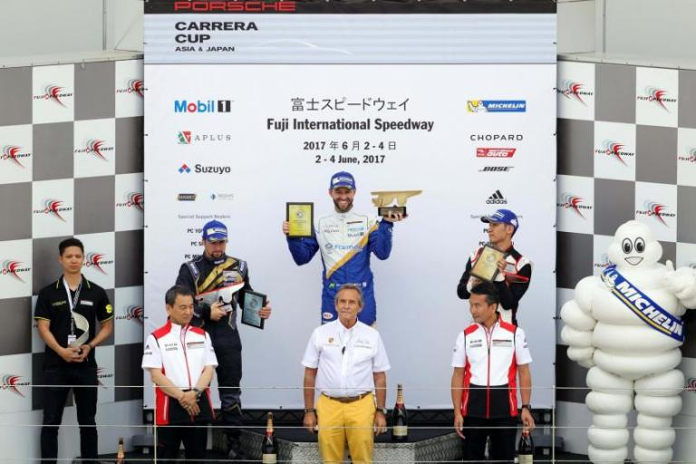 Van der Drift conquers Round 4 for first win of the season as lively invitational rounds out glorious Fuji weekend