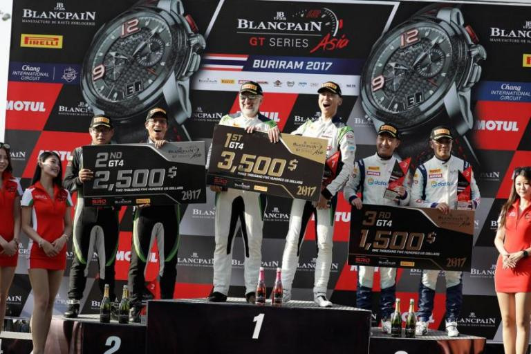 Porsche fields 8 strong entries during battle in Buriram for Blancpain GT Series Asia's Round 3 and 4