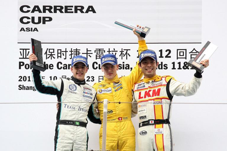 Sawa Crowned 2011 Porsche Carrera Cup Asia Champion in Shanghai