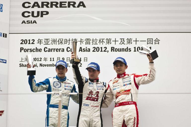 Ragginger Victorious in Shanghai Thriller