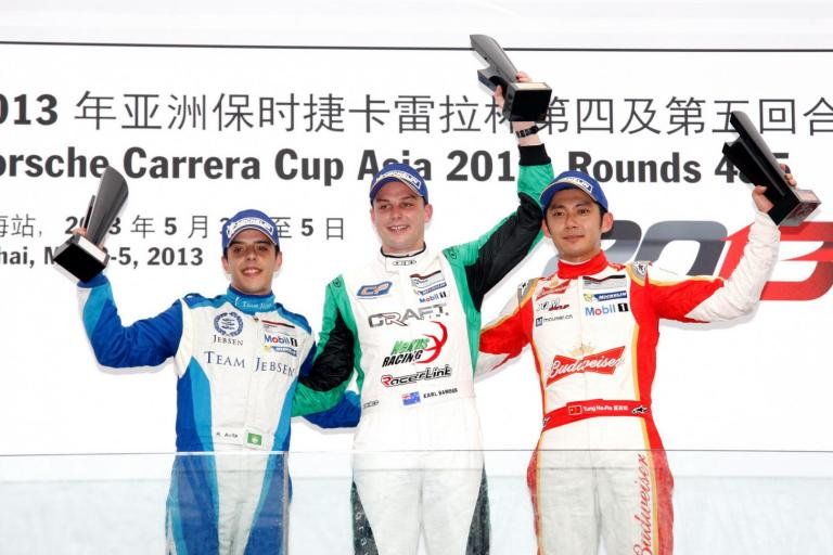 Bamber takes maiden victory in Zhuhai