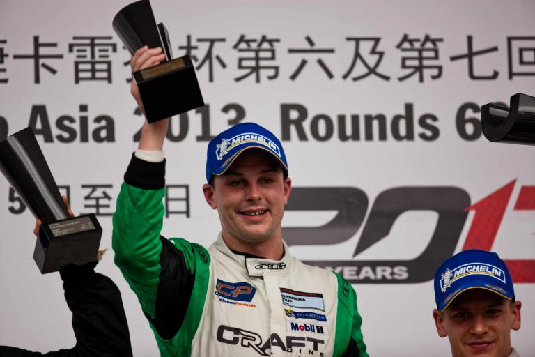 Bamber leads charge for Porsche Carrera Cup Asia Inje Speedium debut