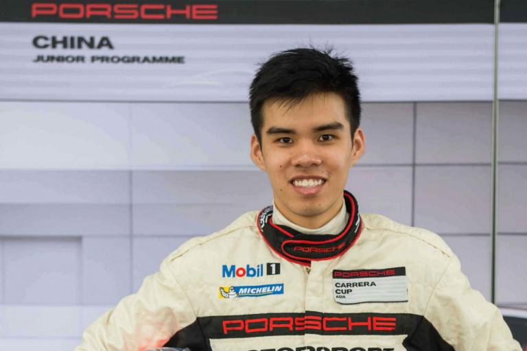 Porsche China brings chance-of-a-lifetime for Andrew Tang