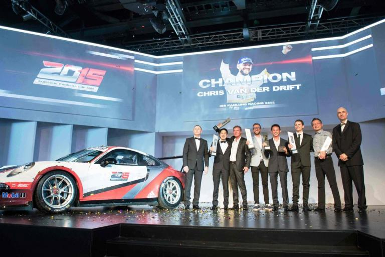 Porsche Carrera Cup Asia announces 2016 Australia debut