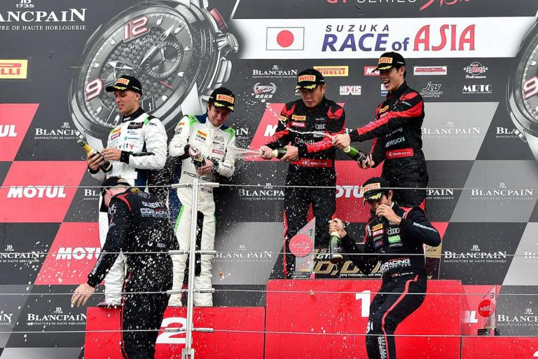 Blancpain GT Series Asia: Weekend of firsts for Porsche with pole and podium at Blancpain GT Series Asia in Suzuka