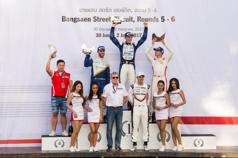 Perfection for Will Bamber as he roars into Round 6 victory for max points at Bangsaen