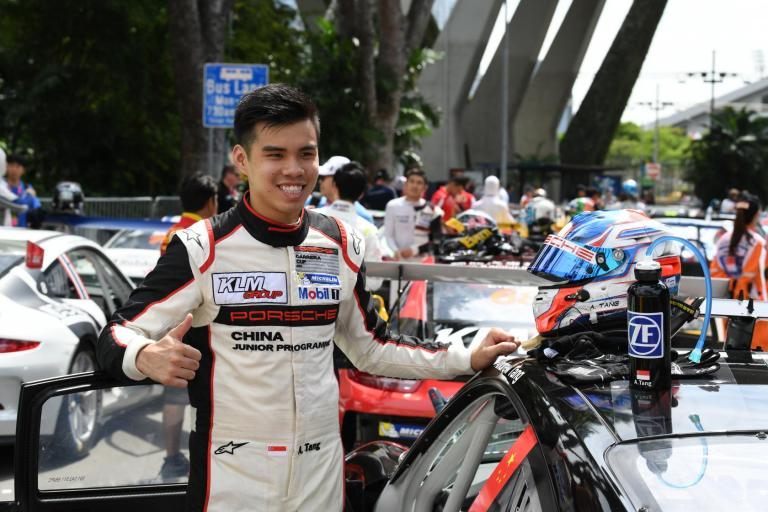 Carrera Cup Asia Insights: A moment with Porsche China Junior Andrew Tang