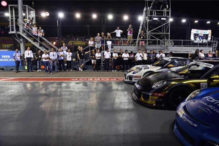 Single point contest as Porsche Carrera Cup Asia bids farewell to F1 after 14 years in Sepang