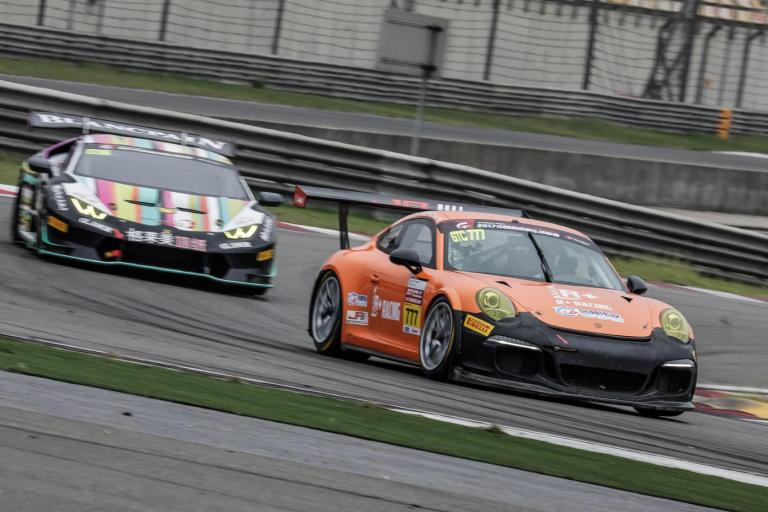 China GT: Final push for Porsche entries before finale as heads to Chengdu for Round 9 and 10