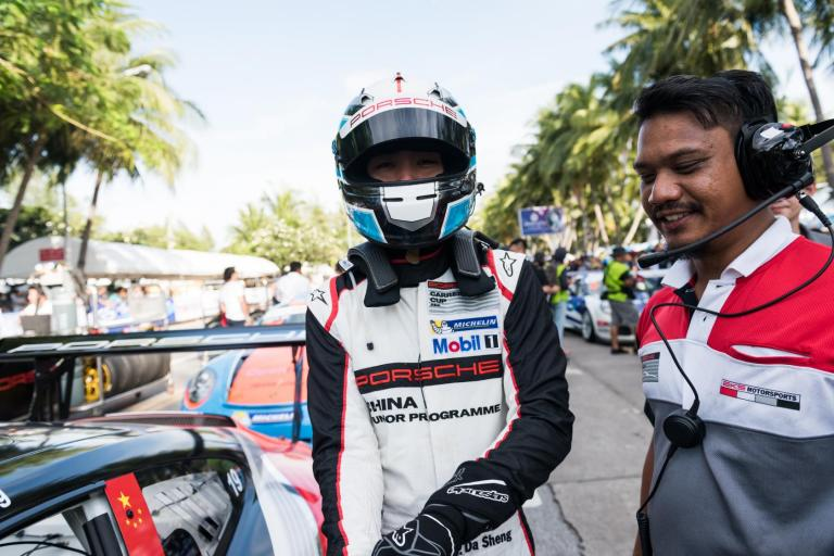 Carrera Cup Asia Insights: Catching up with Porsche China Junior Zhang Dasheng