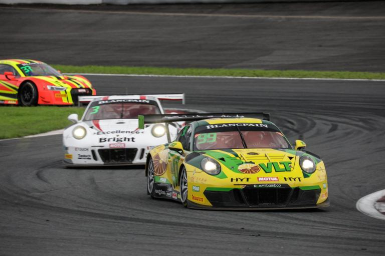 Blancpain GT Series Asia:Climatic season finish in store for Porsche in Zhejiang