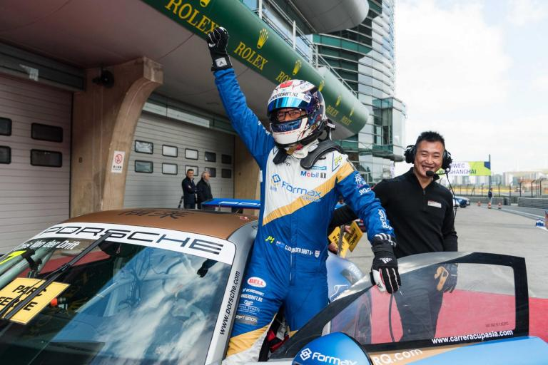 Team Formax's Chris van der Drift crowned 2017 Porsche Carrera Cup Asia Champion after legendary Shanghai showdown