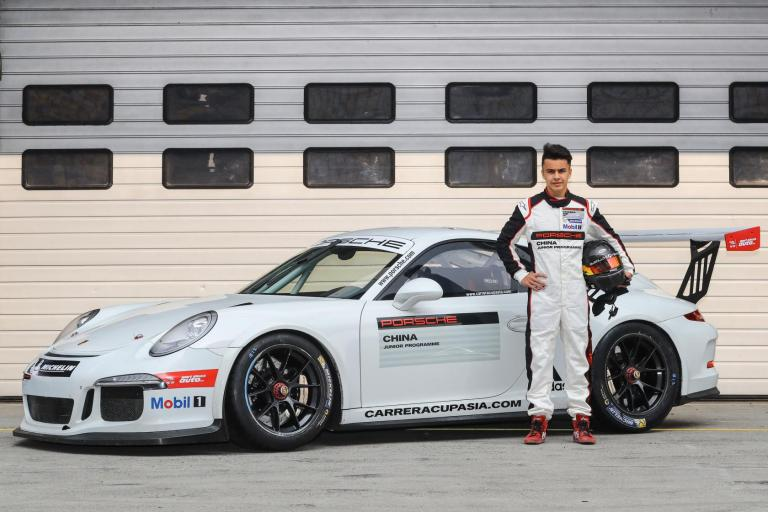 16-year-old Chinese driver Daniel Lu selected to become youngest Porsche China Junior
