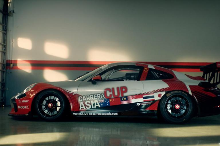 Porsche Carrera Cup Asia 2018  Series Registered Entry List