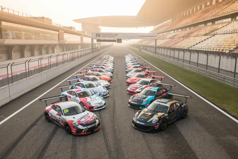 Faster times overall as Porsche Carrera Cup Asia debuts new Porsche 911 GT3 Cup during official test days in Shanghai
