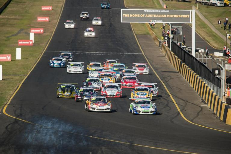 Van der Drift leads mid-season charge as Porsche Carrera Cup Asia joins Australia for invitational in Sydney