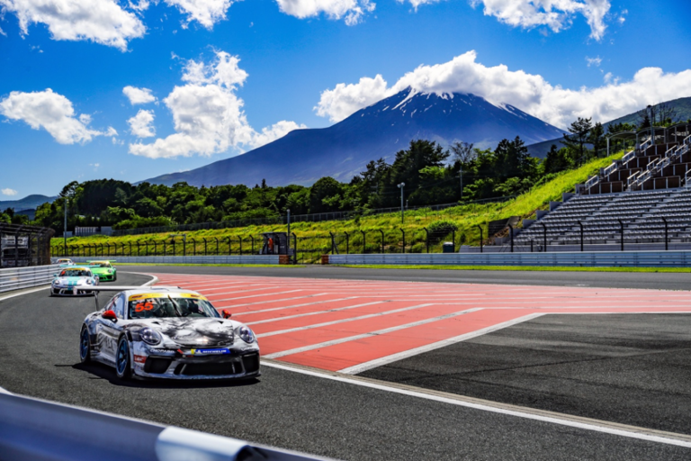 Fast-paced wheel-to-wheel racing in Fuji as the Porsche Carrera Cup Asia switches up a gear