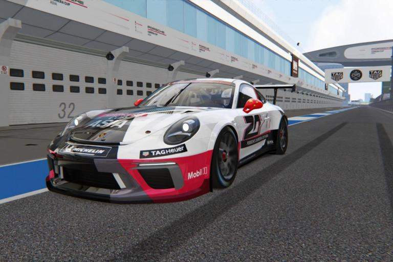 Porsche Carrera Cup Asia goes digital for innovative Virtual Edition
