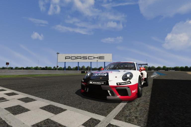 Porsche Carrera Cup Asia Virtual Edition gears up for the Series' return to Chang